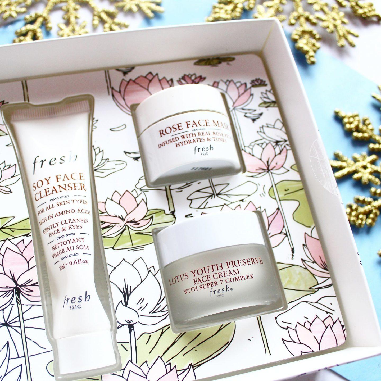 Fresh Christmas Collection | 'Facial On The Fly' Skincare Gift Set