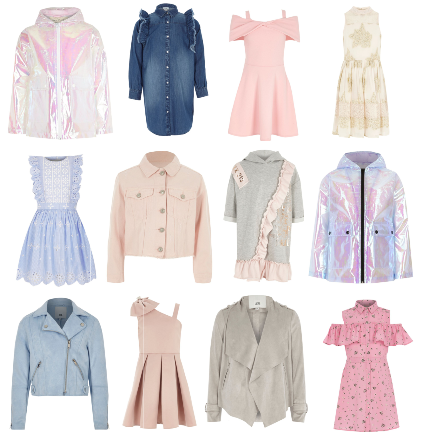 River Island | Adorable Girl's Coats & Dresses for all Occasions #AD