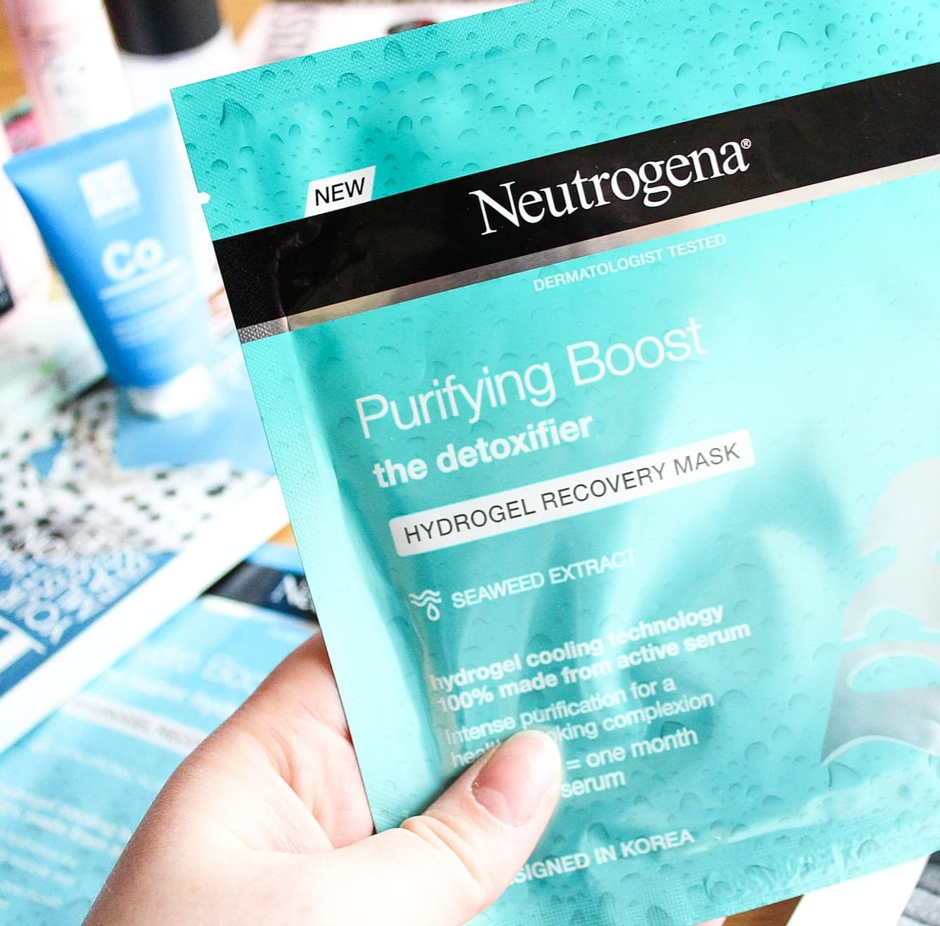 Best of Drugstore Skincare | Neutrogena Hydrogel Recovery Masks