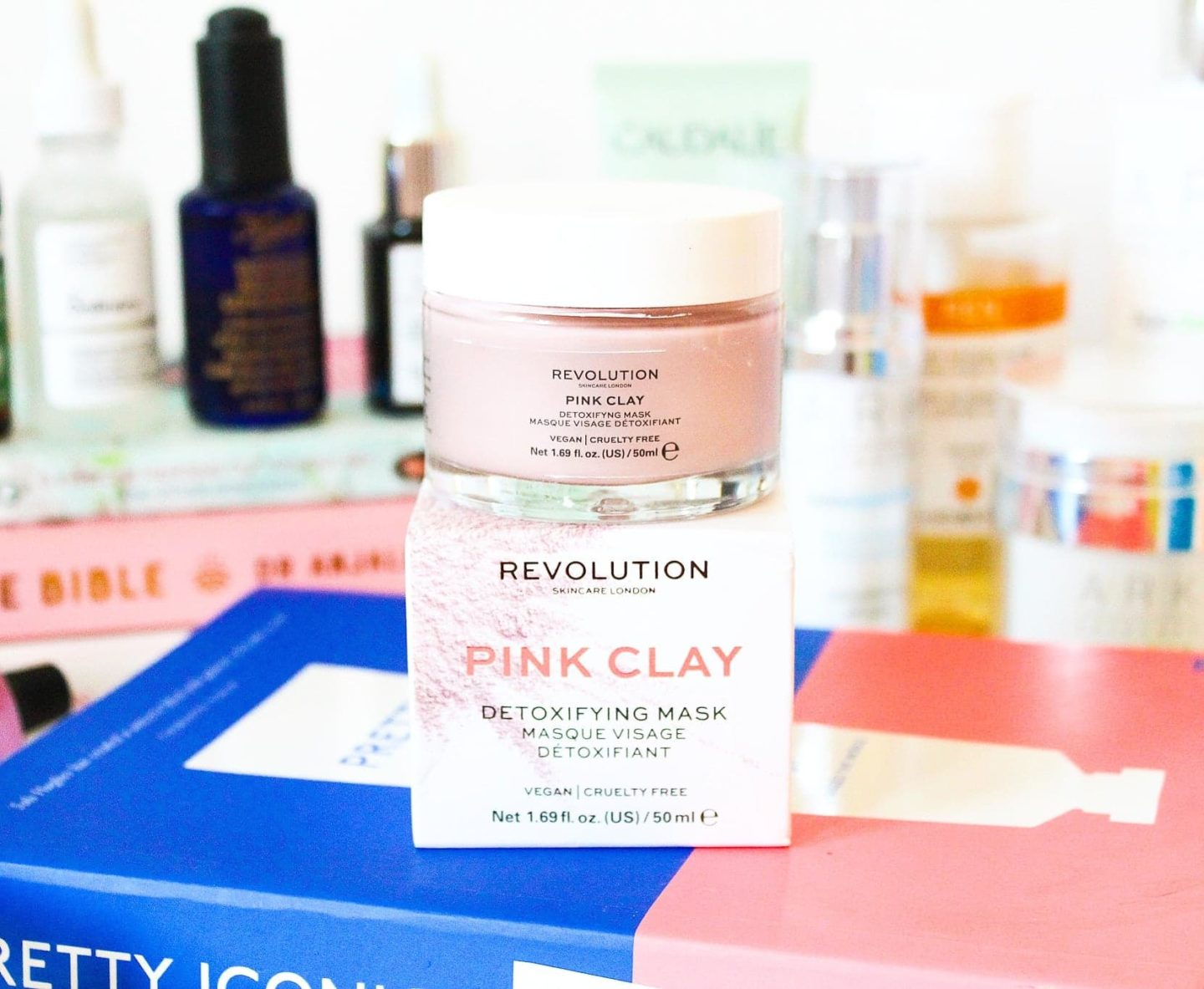 Revolution Pink Clay Detoxifying Mask